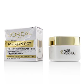 LOreal Dermo-Expertise Age Perfect Reinforcing Rehydrating Day Cream (For Mature Skin) (Box Slightly Damaged)