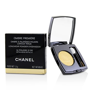 Chanel Ombre Premiere Longwear Powder Eyeshadow - # 34 Poudre Dor (Metallic)