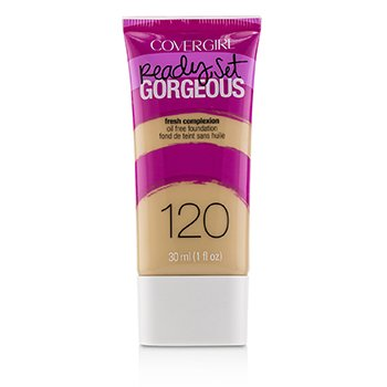 Covergirl Ready Set Gorgeous Oil Free Foundation - # 120 Nude Beige