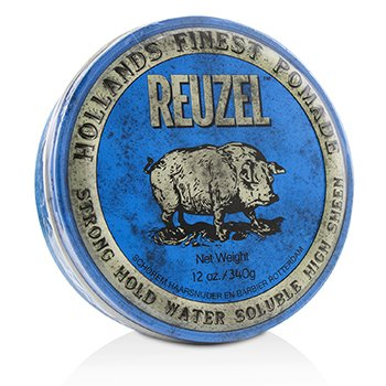 Reuzel Blue Pomade (Strong Hold, Water Soluble)