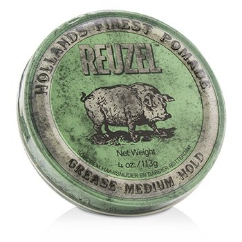 Reuzel Green Pomade (Grease Medium Hold)