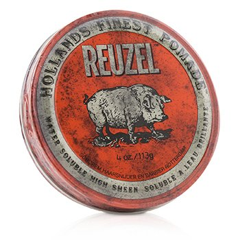 Red Pomade (Water Soluble, High Sheen)
