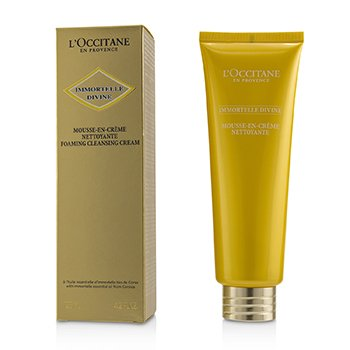 LOccitane Immortelle Divine Foaming Cleansing Cream