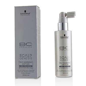 BC Bonacure Scalp Genesis Self-Warming Detox Prep-Treatment (For Normal to Oily Scalps)