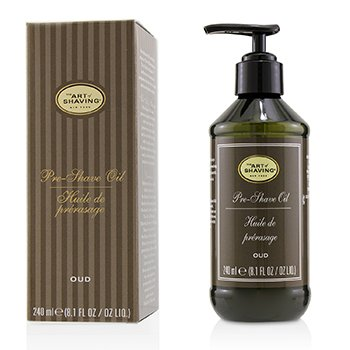 The Art Of Shaving Pre Shave Oil - Oud (With Pump)