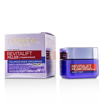 LOreal Revitalift Filler [HA] Anti-Aging Night Cream