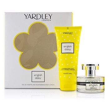 Yardley Daisy Coffret: Eau De Toilette Spray 50ml + Moisturising Body Lotion 200ml