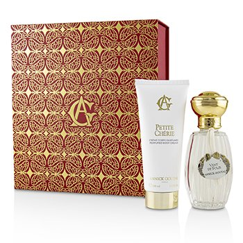 Annick Goutal Vent De Folie & Petite Cherie Coffret: Vent De Folie Eau De Toilette Spray 100ml + Petite Cherie Perfumed Body Cream 100ml