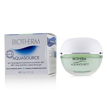 Biotherm Aquasource 48H Deep Hydration Replenishing Gel - Normal/Combination Skin (Jar)