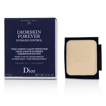18c1797b7f3 Christian Dior Diorskin Forever Extreme Control Perfect Matte Powder Makeup  SPF 20 Refill -   020 Light Beige 9g 0.31oz