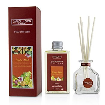 The Candle Company (Carroll & Chan) Reed Diffuser - Fruity Mint