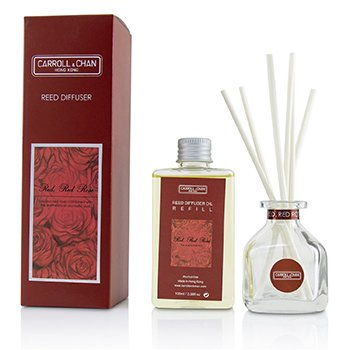 The Candle Company (Carroll & Chan) Reed Diffuser - Red Red Rose