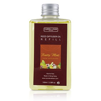 The Candle Company (Carroll & Chan) Reed Diffuser Refill - Fruity Mint