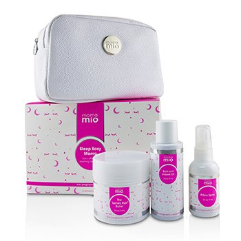 Mama Mio Sleep Easy Mama Kit: The Tummy Rub Butter  - 120g + Bath & Shower Oil 100ml + Pillow Spray 53ml + 1bag