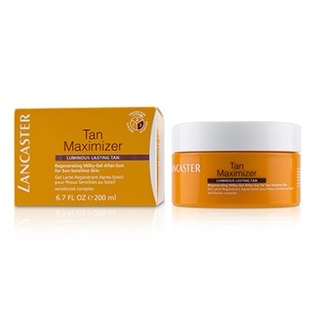 Tan Maximizer Regenerating Milky-Gel After-Sun For Sun-Sensitive Skin - Luminous Lasting Tan