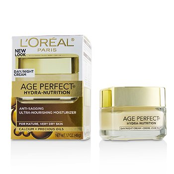 LOreal Age Perfect Hydra-Nutrition Anti-Sagging Ultra-Nourishing Moisturizer - For Mature, Very Dry Skin