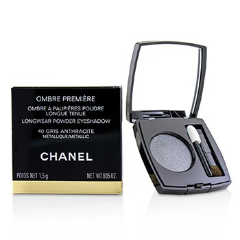Chanel Ombre Premiere Longwear Powder Eyeshadow - # 40 Gris Anthracite (Metallic)