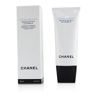Chanel Hydra Beauty Masque De Nuit Au Camelia Hydrating Oxygenating Overnight Mask