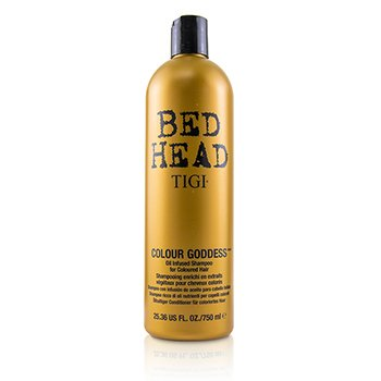 Tigi Bed Head Colour Goddess Oil Infused Shampoo - For Coloured Hair (Cap)