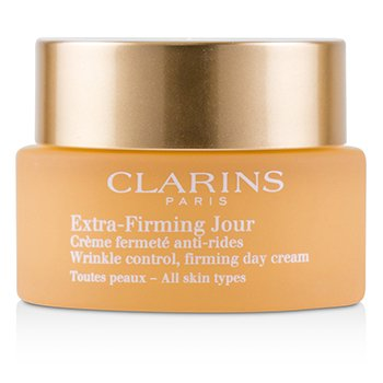 Clarins Extra-Firming Jour Wrinkle Control, Firming Day Cream - All Skin Types (Unboxed)