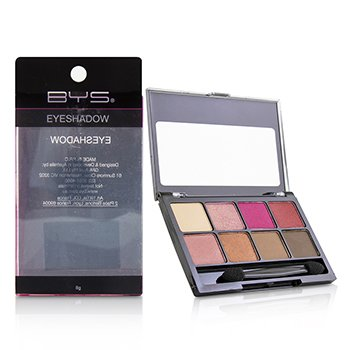 BYS 8 Palette Eyeshadow - # Think Pink