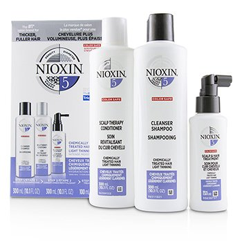 Nioxin 3D Care System Kit 5 - For Chemically Treated Hair, Light Thinning