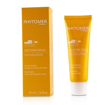 Phytomer Sun Solution Sunscreen SPF 30 (For Face and Sensitive Areas)