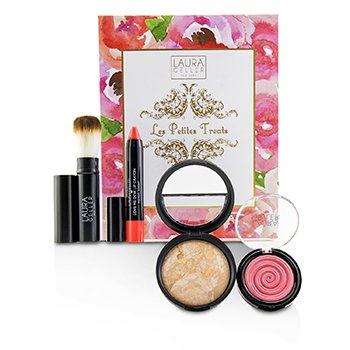 Laura Geller Les Petites Treats A 4 Piece Patisserie Inspired Collection - # Medium KIT114