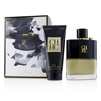Carolina Herrera CH Prive Coffret: Eau De Toilette Spray 100ml + After Shave Balm 100ml