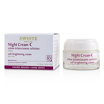 Mary Cohr SWHITE Night Cream - Cell Brightening Cream