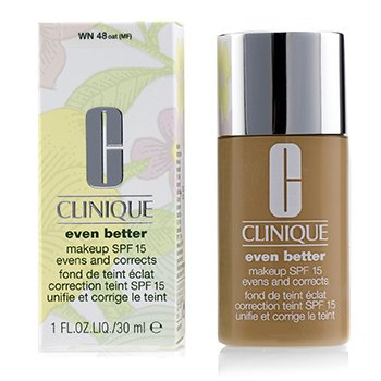 Clinique Even Better Makeup SPF15 (Dry Combination to Combination Oily) - WN 48 Oat
