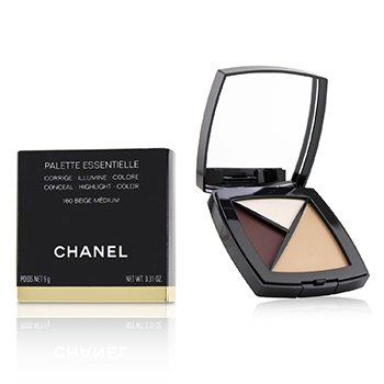 Chanel Palette Essentielle (Conceal, Highlight and Color) - # 160 Beige Medium