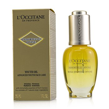 LOccitane Immortelle Divine Youth Oil - Advanced Youth Face Care