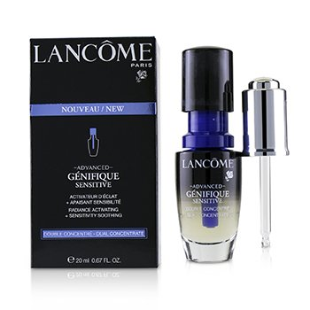 Lancôme Advanced Genifique Sensitive Radiance Activating + Sensitivity Soothing Dual Concentrate