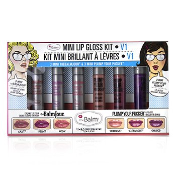 TheBalm Mini Lip Gloss Kit - # V1
