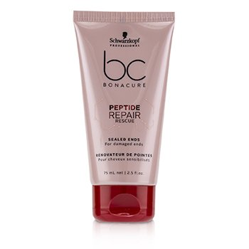 Schwarzkopf BC Bonacure Peptide Repair Rescue Sealed Ends (For Damaged Ends)