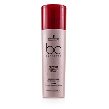 Schwarzkopf BC Bonacure Peptide Repair Rescue Conditioner (For Damaged Hair)