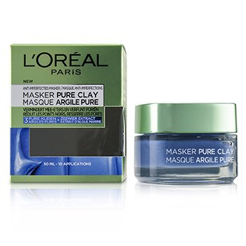 LOreal Pure Clay Mask - Anti-Imperfections Mask