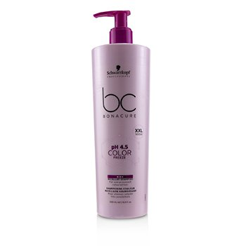 Schwarzkopf BC Bonacure pH 4.5 Color Freeze Rich Micellar Shampoo (For Overprocessed Coloured Hair)