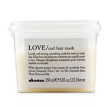 Love Curl Hair Mask (Lovely Curl Taming Nourishing Mask For Wavy or Curly Hair)