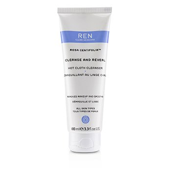Ren Rosa Centifolia Cleanse & Reveal Hot Cloth Cleanser