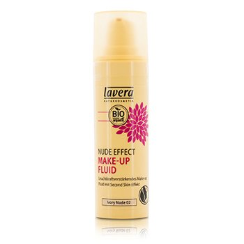 Lavera Nude Effect Make Up Fluid - # 02 Ivory Nude (Exp. Date 01/2020)