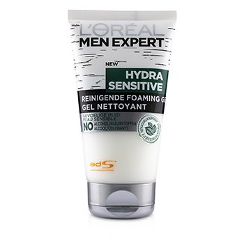 LOreal Men Expert Hydra Sensitive Cleansing Foaming Gel