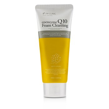 3W Clinic Coenzyme Q10 Foam Cleansing (Unboxed)