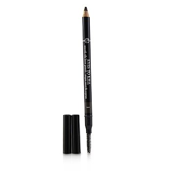 Giorgio Armani Eyes To Kill Smooth Silk Brow Pencil - # 3 Wenge Wood