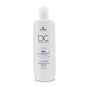 Schwarzkopf BC Bonacure Deep Cleansing Shampoo Micellar Shampoo (For All Hair Types)