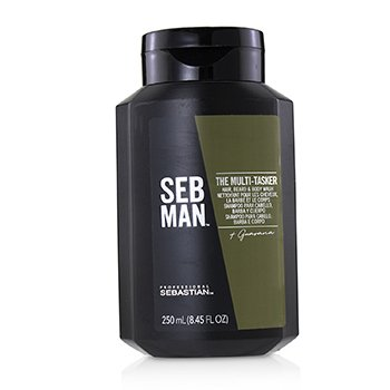 Sebastian Seb Man The Multi-Tasker (Hair, Beard & Body Wash)