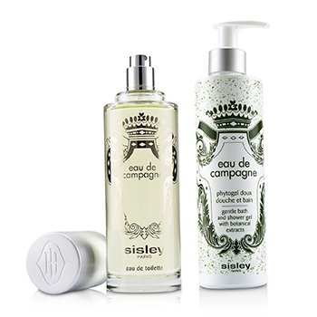 Eau De Campagne Coffret: Eau De Toilette Spray 100ml/3.3oz + Gentle Bath & Shower Gel 250ml/8.4oz