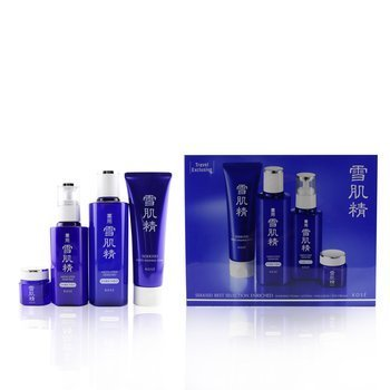 Sekkisei Best Selection Enriched Set: Washing Foam 130g+Enriched Lotion 200ml+Enriched Emulsion 140ml+Eye Cream 20g