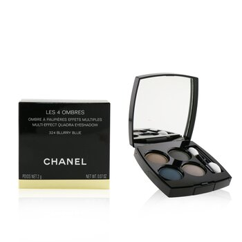 Chanel Sombra Les 4 Ombres Quadra Eye Shadow - No. 324 Blurry Blue